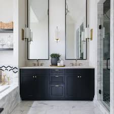 Country bathroom shower ideas Barnwood Shower Bathroom Country White Tile White Floor Bathroom Idea In Chicago With Recessedpanel Cabinets Houzz 75 Most Popular Farmhouse Bathroom Design Ideas For 2019 Stylish