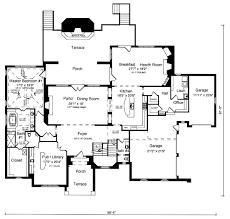 tudor house plans. European Tudor House Plan 50187 Level One Plans