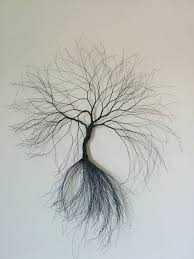 tree of life in winter wall art soft crate wood and black metallic wire collage wall art wire art wood wall art on wire tree sculpture wall art with 11 best etsy images on pinterest handmade items wire trees and