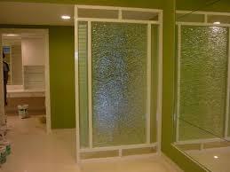decorative glass partition