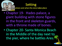 setting where and when the story takes place