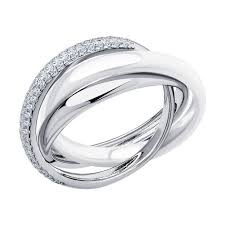 <b>Серьги</b> из серебра с <b>фианитами и</b> керамикой SOKOLOV купить в ...