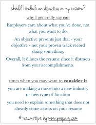 Should A Resume Have An Objective Drupaldance Com