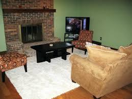 corner tv furniture arrangement corner fireplace living room