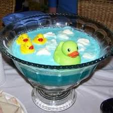 Followed This Recipe But Used White Grape Juice Everyone Raves At Blue Punch For Baby Boy Shower