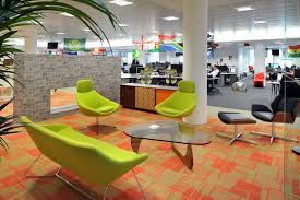colorful office space interior design. Office Interior Design Colorful Space