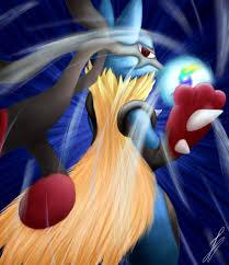 Pokemon - Mega Lucario by Isadu on DeviantArt