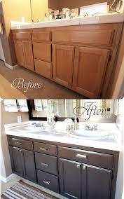bathroom cabinet redo. Wonderful Bathroom Before And After Bathroom Cabinet On Redo S