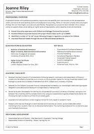 Resume Format In Australia] Australian Resume Format For The .