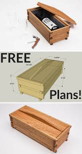 Diy Wooden Box Designs How To Build A Diy Wooden Gift Box Free Printable Project