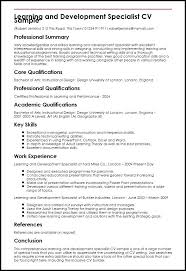 Instructional Design Resume Foodcity Me
