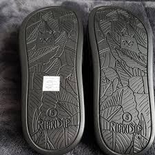 Ripndip Brand New Black Lord Nermal Slides Shoe Depop