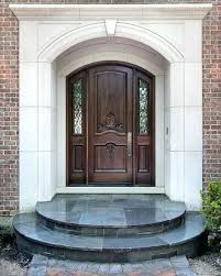 elegant front doors. Elegant Front Doors Furniture Luxurious Wooden Door With Big Wall Around Amazing Design S