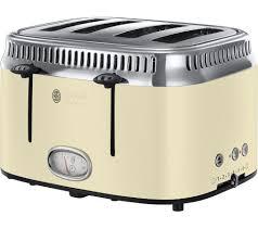 Retro Toasters buy russell hobbs retro 21692 4slice toaster cream free 2791 by xevi.us