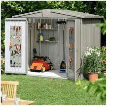 the biohort europa 7 metal garden shed