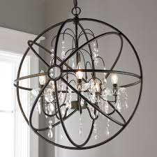 chair breathtaking sphere chandelier with crystals 9 crystal and metal orb jpg c 1494600328 breathtaking sphere
