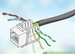 how to install an ethernet jack in a wall pictures image titled install an ethernet jack in a wall step 13