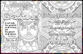 Gratitude Coloring Book
