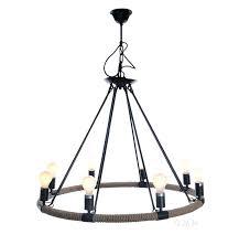 nautical rope chandelier nautical rope pendant hanging lamp chandelier lighting eight bulbs nautical rope and bronze nautical rope chandelier