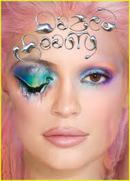 kylie jenner got her makeup done by an ai program for dazed beauty magazine cover