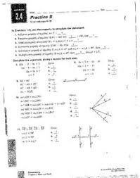 Addition Property Of Equality Lesson Plans Worksheets