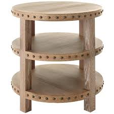 oak end tables. Home Decorators Collection Nailhead Light Washed Oak End Table Tables