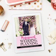 Certificate In Professional Wedding Planning The Wedding Planner
