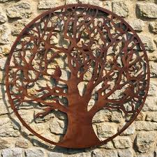marvellous large rustic wall art rustic wrought iron