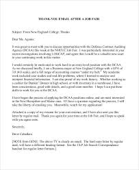 thank you letter after application sample thank you letter format 8 examples in word pdf