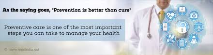 Health Tip On Preventive Healthcare Guidelines