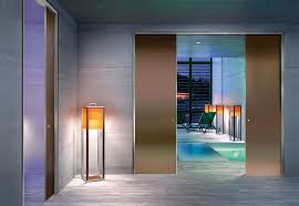 bronze frosted glass anodized aluminium isy frame