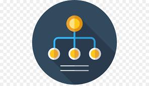 Organization Chart Psd Yellow Circle