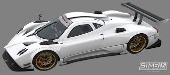 GTR3 - First Pagani Zonda R Previews  