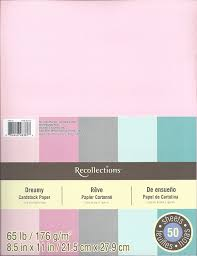 Amazon Com Recollections Cardstock Paper 8 1 2 X 11 Dreamy