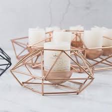 enchanting rose gold candle holders south africa