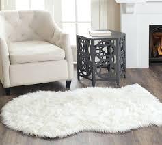 fur area rug white faux rugs sheepskin black most terrific small orange and faux fur area rug