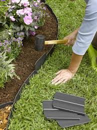 garden pavers for bed edging tips. This Pin Had Some VERY Creative \u0026 Unique Ideas For Edging Your Gardens. There Is More Than One Idea I\u0027m Going To Put Use. I Hope You Find Great Garden Pavers Bed Tips E