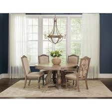 Ilana Traditional Round Formal <b>Five</b>-<b>Piece Dining Table</b> Set ...