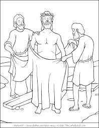 Stations Of The Cross Coloring Pages Stations Cross Coloring Pages