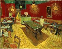 the night cafe by vincent van gogh 1888
