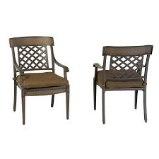 Shop Garden Treasures Set of 2 Herrington Aluminum Patio Dining