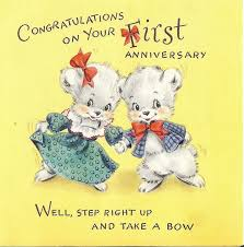 15 best vintage anniversary cards images on pinterest vintage Congratulations Your Wedding Anniversary congratulations on your first anniversary congratulations your wedding anniversary quotes