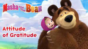 Masha và chú gấu 💖🤗 Thái độ biết ơn collection Bộ sưu tập phim hoạt hình  hay nhất dành cho trẻ em - Lovekid