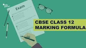 cbse 12th marking formula how will