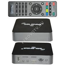 <b>Медиаплеер Selenga R4 2Gb/16Gb</b> Android TV Box купить в ...