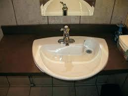bathroom sink slow drain slow draining bathroom sink image titled unclog a slow running upstairs bathroom
