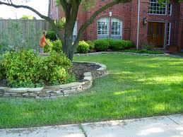 Diy Lawn Edging Ideas Flagstone Border Landscape Borders Flagstone And Concrete Garden