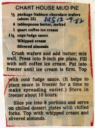 Chart House Mud Pie Historic Recipe Collections Hosted