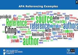 Apa Referencing Examples