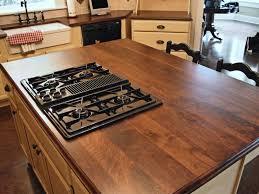 traditional kitchen with custom walnut butcher block countertops kitchen island oil rubbed bronze 2 handle